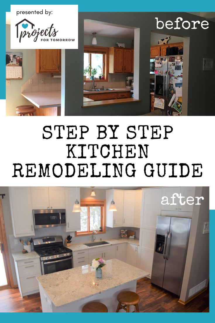 A Step By Step Kitchen Remodeling Guide Projects For Tomorrow